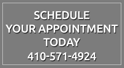 Schedule an appointment today 410-571-4924